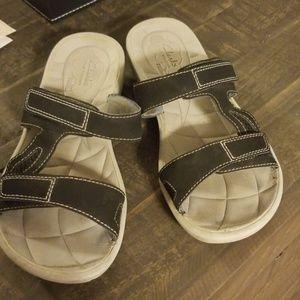 Clarks Cloud Steppers Sandals